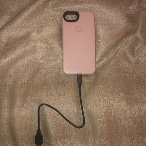 6/6s/7 LuMee case w/ charger cable